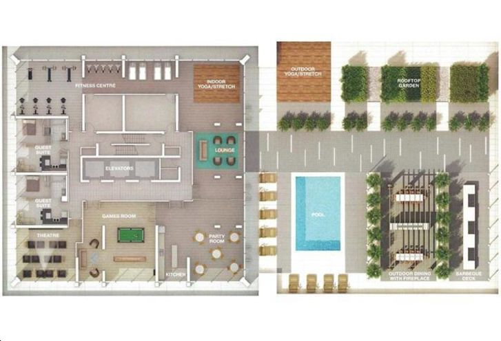 1 Thousand Bay Condos rendering 2