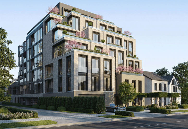 10 Prince Arthur Condos- Looking at the Exterior from Street Level