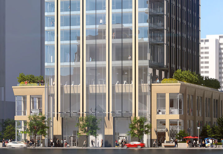 11 Yorkville Condos- Early Rendering