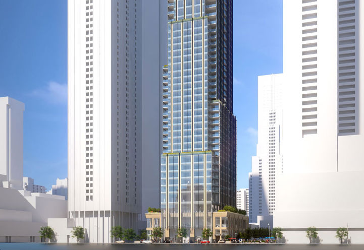 11 Yorkville Condos- Former Architectural Rendering