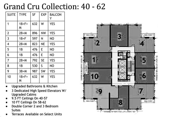Site Plan for 11 YV Condos