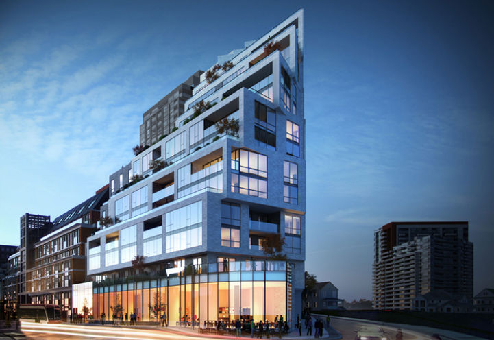1181 Queen West Condos Exterior View