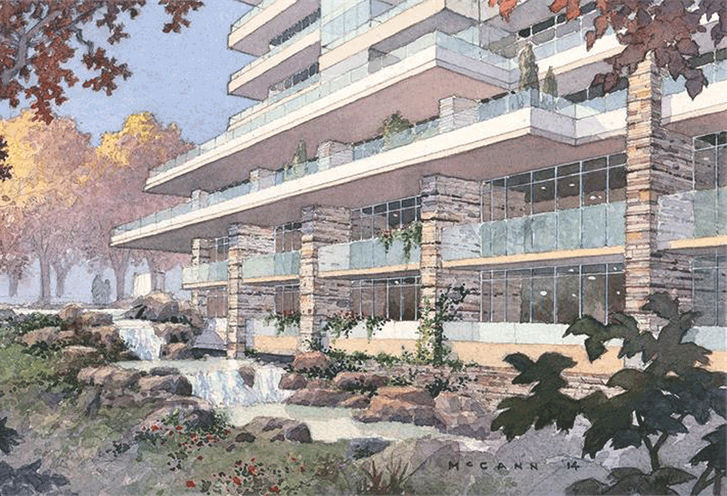 1215 York Mills Artists' Rendering