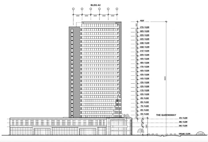 1750 The Queensway Condos Rendering