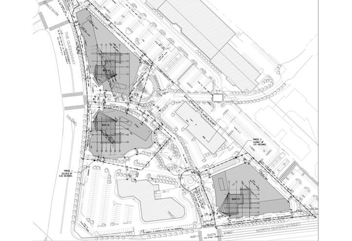 1750 The Queensway Condos Site Plan Layout