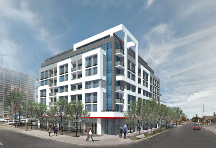 3019 Dufferin St, rendering of project