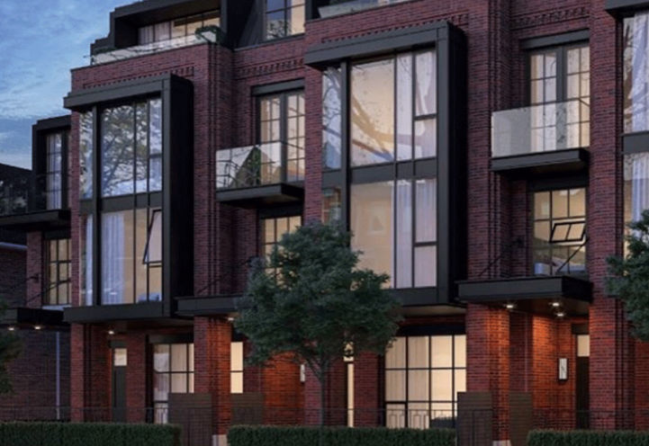 36 Birch Avenue Townhomes by North Drive