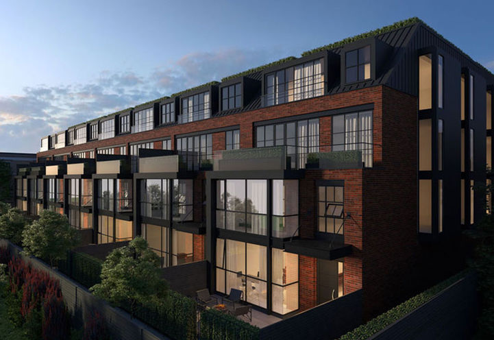 Rooftop Terraces at 36 Birch Avenue Townhomes