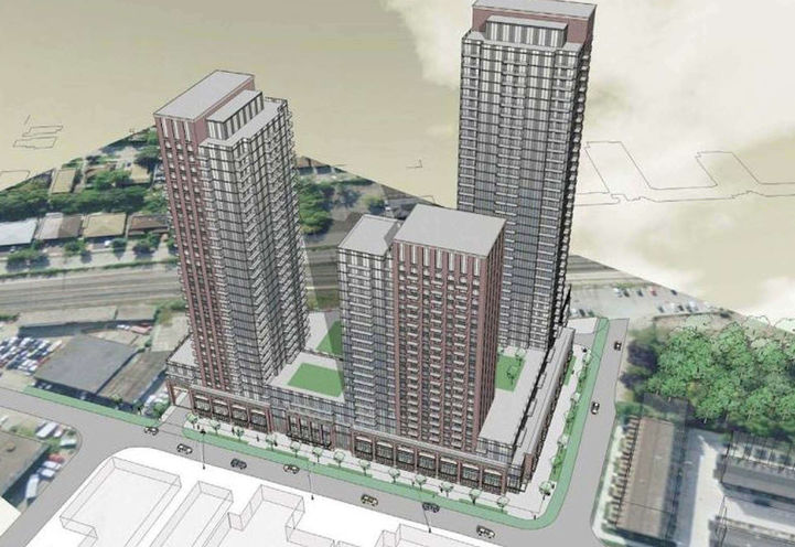 39 Newcastle Street Condos Early Rendering