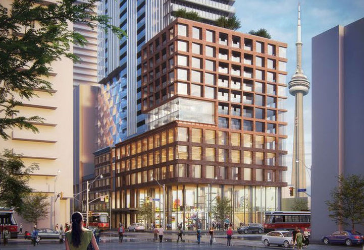 Previous, Looking Southeast to 411 King St W, Toronto