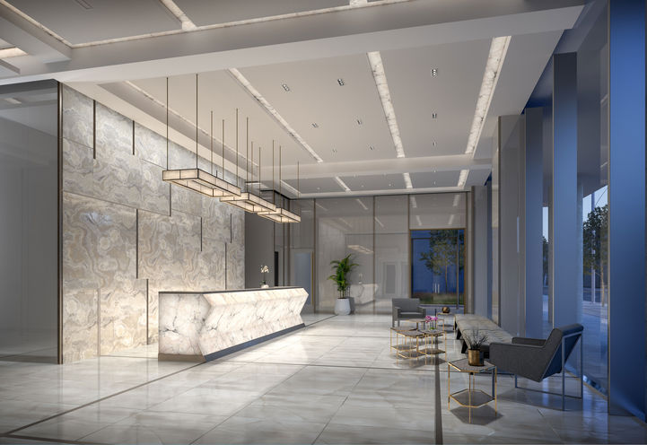 24-Hr Concierge/Lobby at 543 Richmond Condos