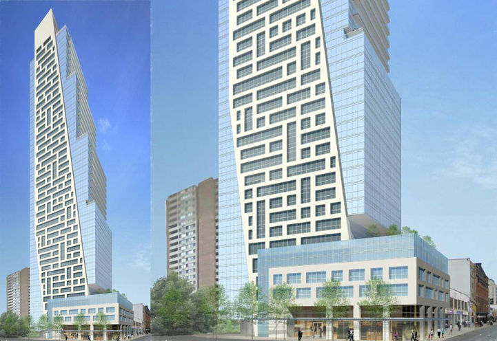 625 Yonge Street Condos Front