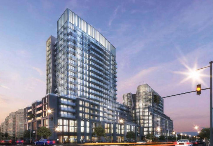 660 Leaside Condos Early Rendering