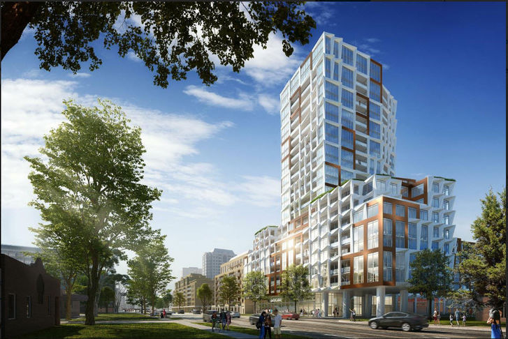 Building View, 680 Sheppard Ave East Condos by Tribute Communities and Greybrook