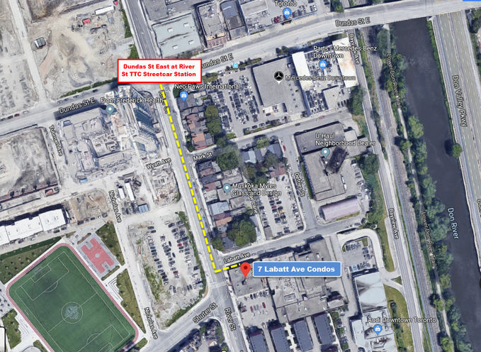 7 Labatt Ave Condos Future Location