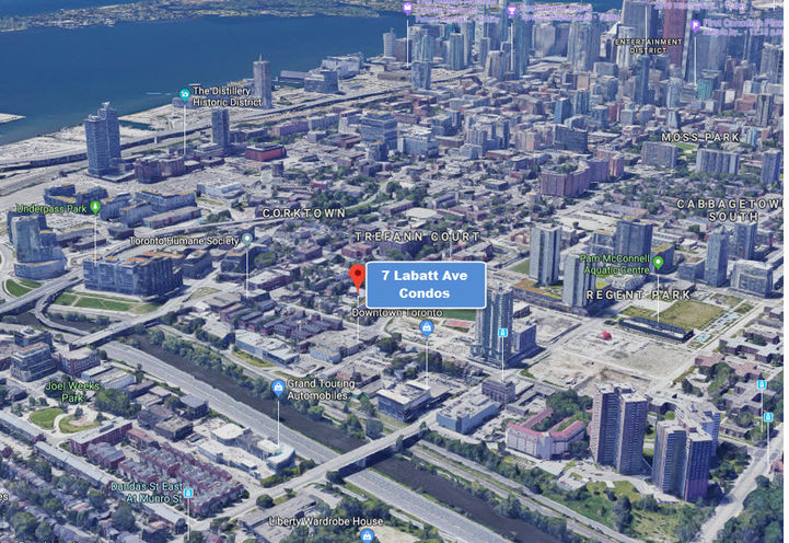 7 Labatt Ave Condos Surrounding Area