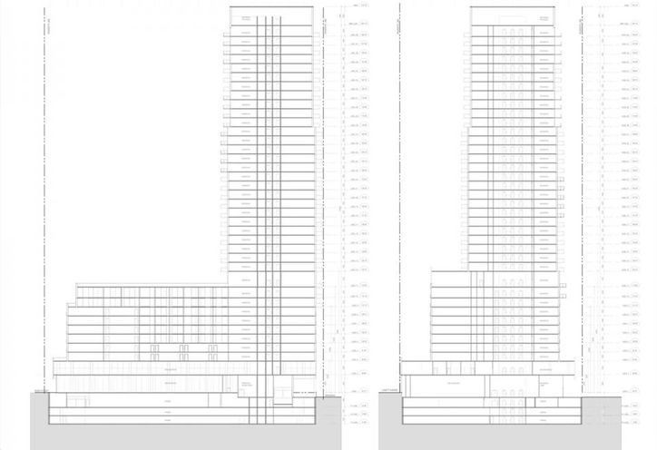 Podium of 7 Labatt Ave Condos