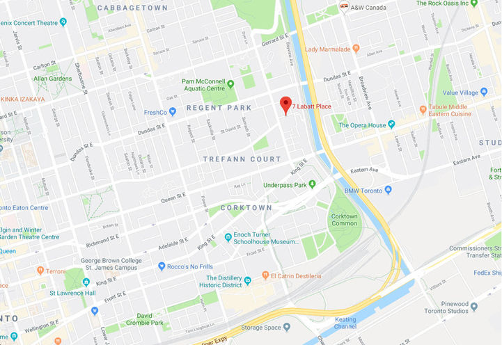 Previous Proposal for 7 Labatt Ave Condos