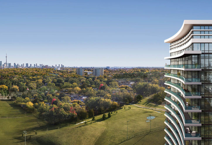 Outdoor View of 7 On The Park Condos by iKore Development