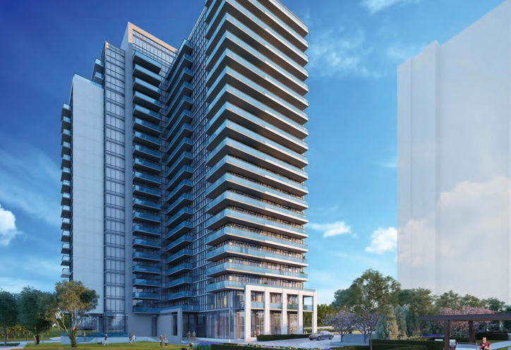 Toronto, Ontario, 7 On The Park Condos, by iKore Developments Ltd