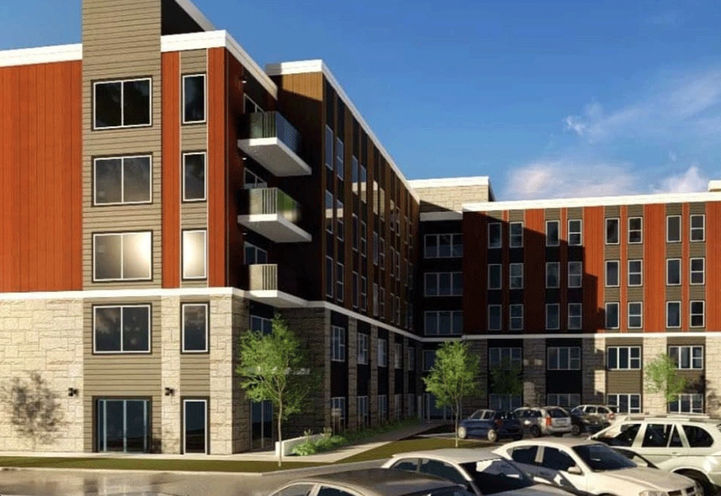 Exterior View of 77 Leland Condos
