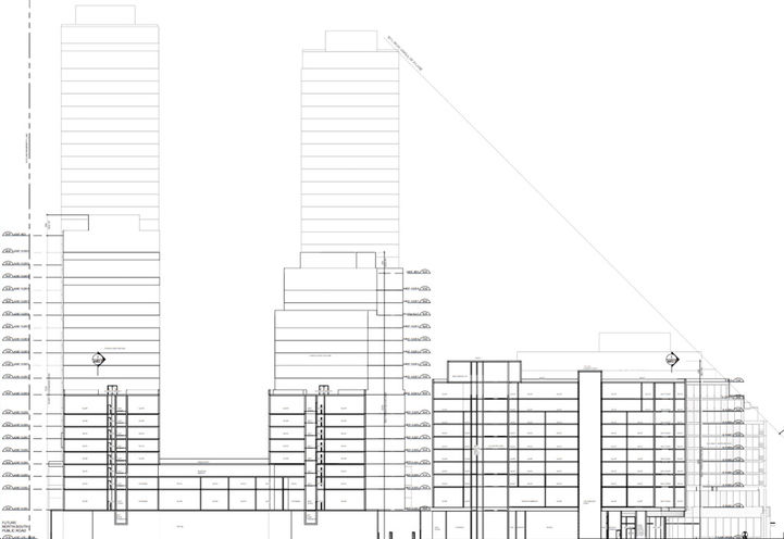 Architectural Drawing of 815 Eglinton East Condos