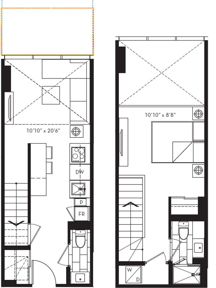 88 North Condos By St Thomas Development 16 Floorplan 1