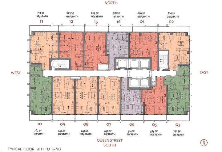 88 Queen Condos Plans Prices Reviews