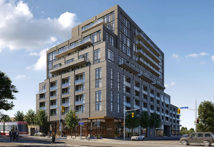 908 St. Clair West Condos by Canderel Residential