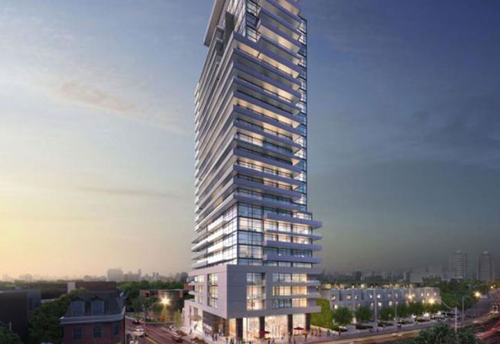 AYC Condos at Dupont St and Avenue Rd on 181 Bedford Rd, Toronto, ON