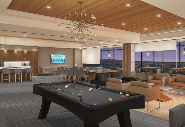 Affinity Condos Party Room
