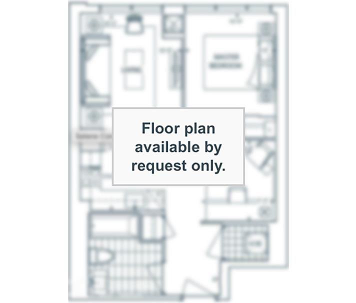 Allegra Condos By Trimax B Floorplan 1 Bed 1 Bath