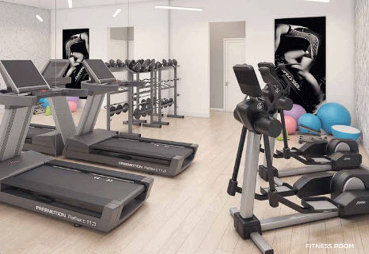 Amsterdam Urban Towns, Fitness Room with Treadmills