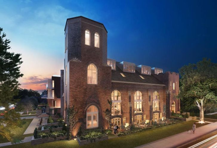 Arch Lofts Church Rendering