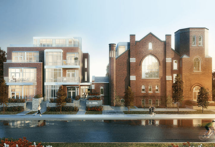 Arch Lofts rendering 1