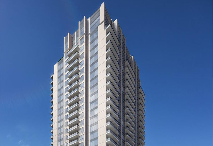 Azure Condominiums Top Level - Early Rendering