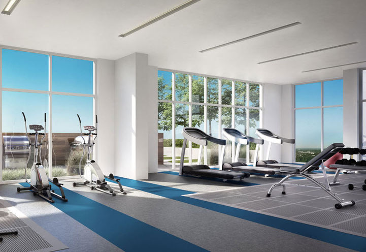 Fitness Centre at Azure Condos