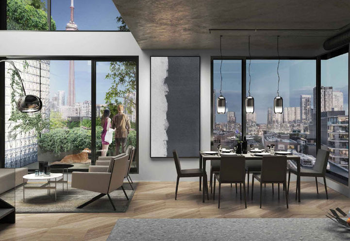 Big King Toronto Condos by Westbank Corp & Allied Properties REIT