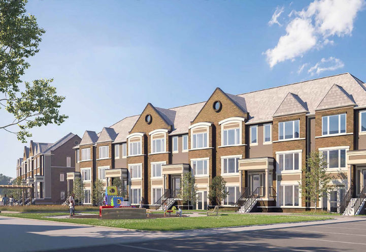 Beckenrose Townhomes by The Daniels Corporation