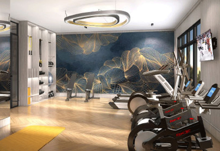 Berkshire Residences Fitness Centre with Cardio Machines