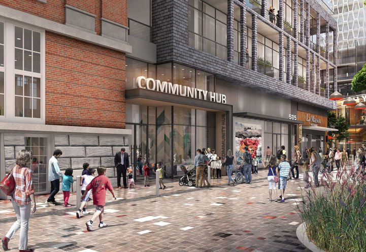 Community Hub, Bloor and Dufferin Condos 2