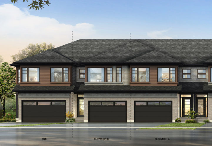 Brant West Towns by Losani Homes Located at 501 Shellard Ln, Brant