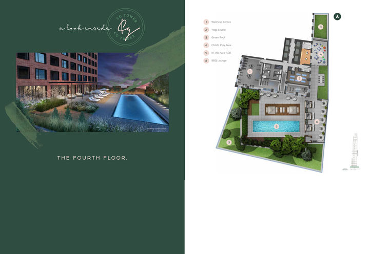 Floorplan Model - Burgundy