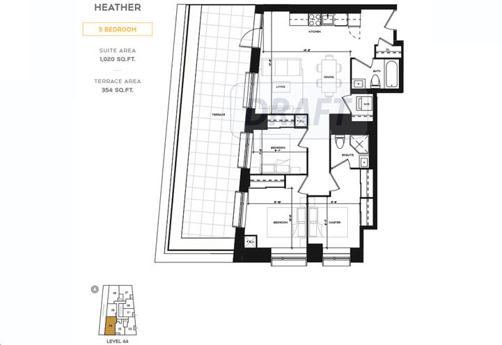 Floorplan Model - Taupe