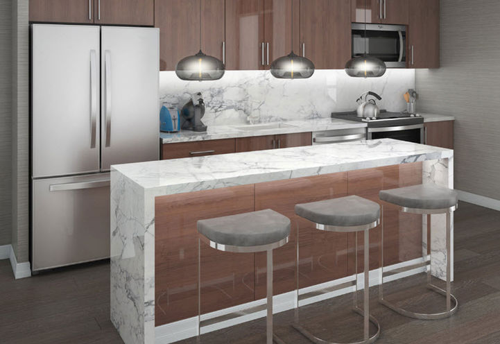 Interior Suite Design and Finishes- Kitchen