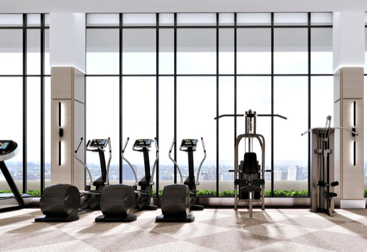 Cardio Equipment within Chateau Auberge's Fitness Centre
