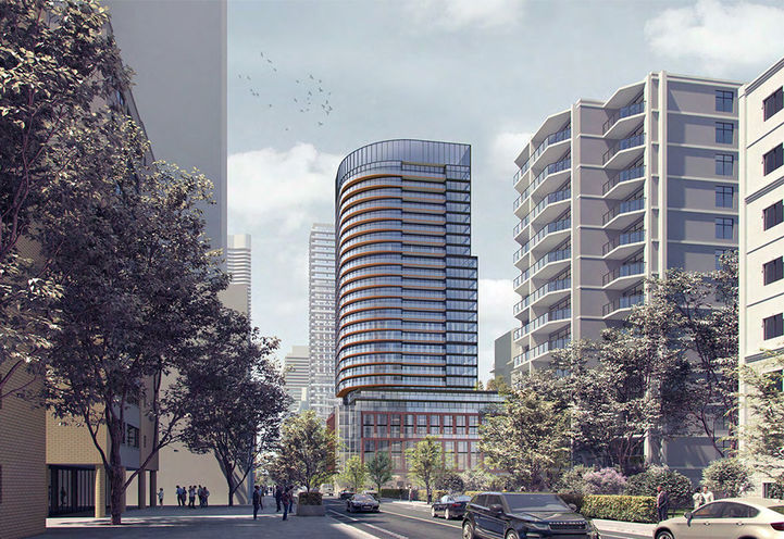 Concept, Church and Wellesley Condos at 66 Wellesley St E, Toronto, ON