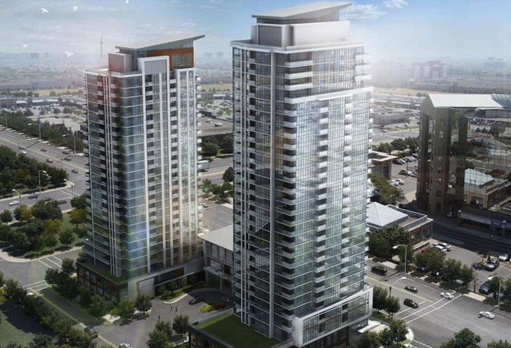 Crystal Tower 2 at Pinnacle Uptown rendering 1
