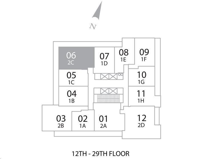 Daniels Festival Tower By Daniels Eastwood Floorplan 2 Bed 2 Bath