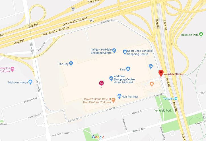 Yorkdale Mall Toronto New Condos